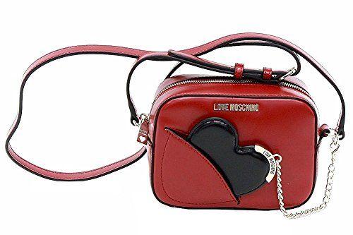 3d0433fcac9fb LOVE MOSCHINO Love Moschino Women S Heart Mirror Crossbody Handbag.   lovemoschino  bags  shoulder bags  leather  crossbody  lining