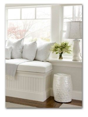 window box between window frames