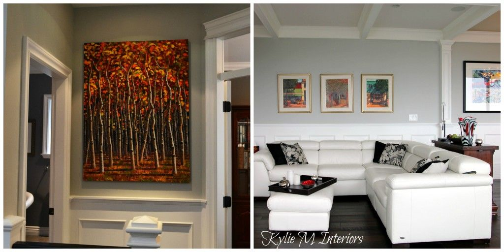 The Right Height To Hang Artwork And Mirrors Tips And