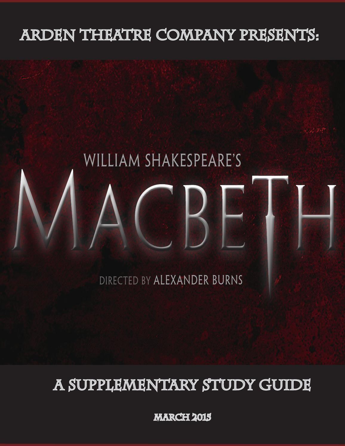 macbeth test study guide