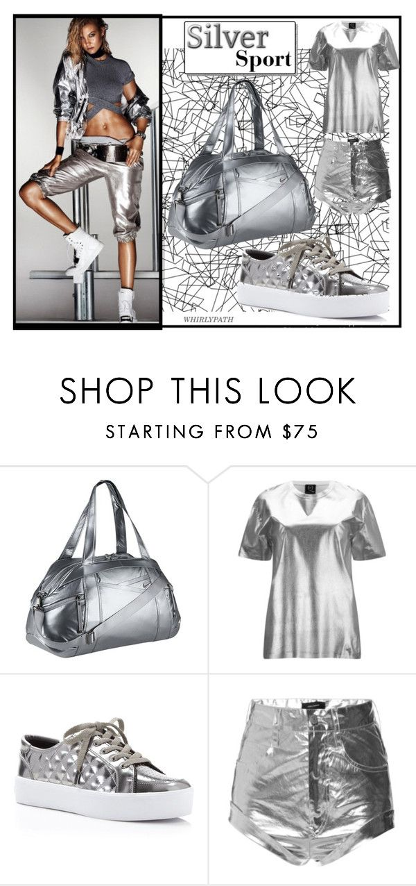 """Silver Sport!"" by whirlypath ❤ liked on Polyvore featuring COVERGIRL, NIKE, McQ by Alexander McQueen, Rebecca Minkoff, Isabel Marant, women's clothing, women, female, woman and misses"