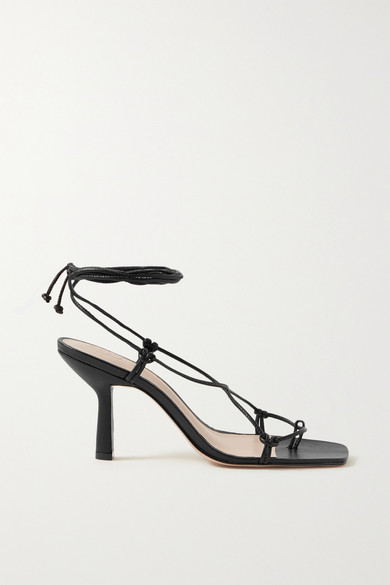 Porte Paire Knotted Leather Sandals In 2020 Leather Sandals