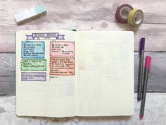 How I track reading in my bullet journal // Books Read in 2016