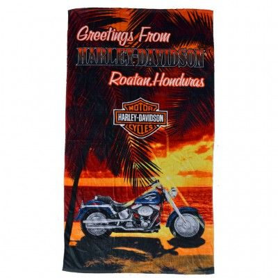 We've reinvented the beach towel. #ShopHarleyDavidson #Roatan