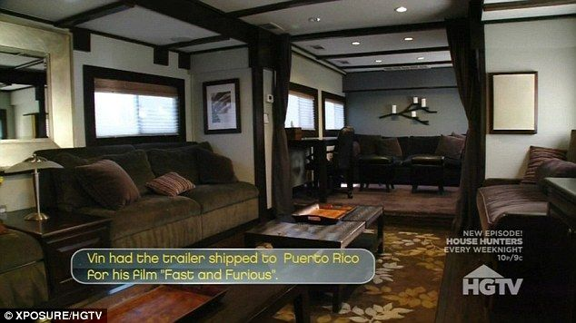 Mansion On Wheels Inside Vin Diesels Gold Two Storey 11million Trailer Luxury MotorhomesVin