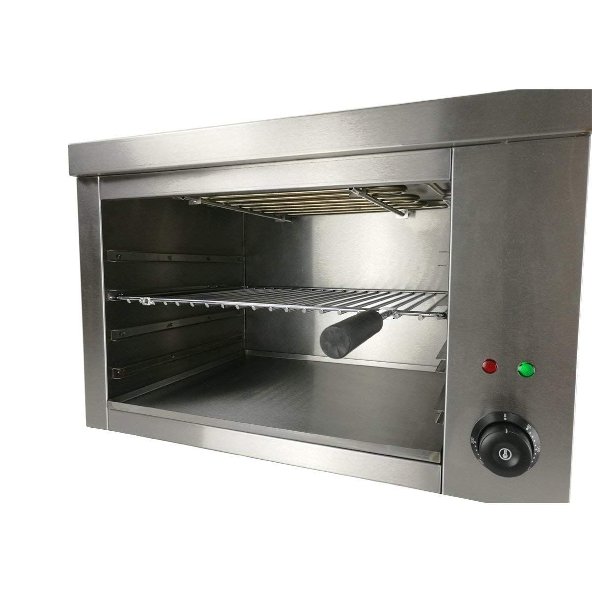 Countertop Commercial Electric Salamander Broilers 2200w Stainless