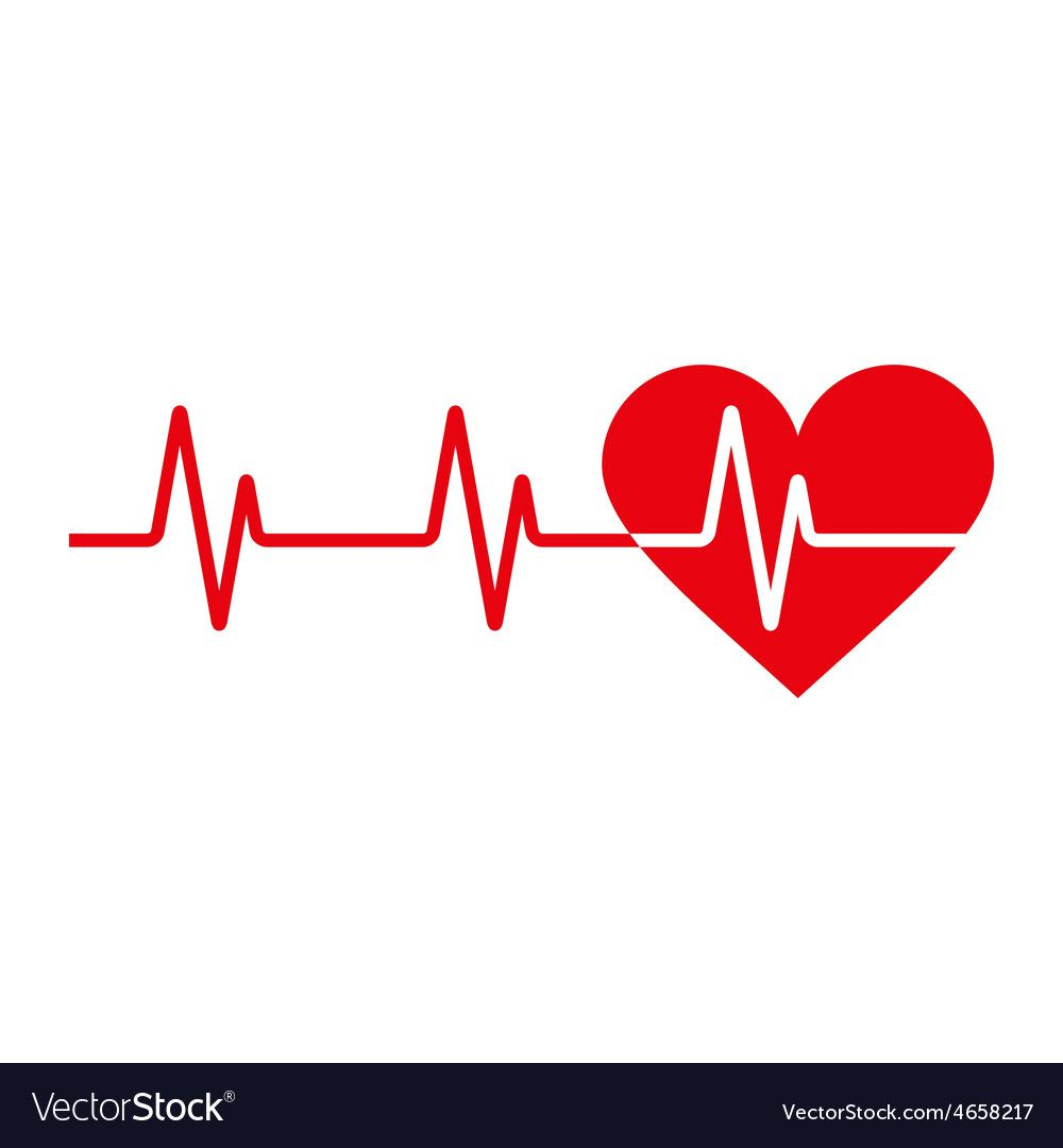 Heartbeat Icon Royalty Free Vector Image Vectorstock Sponsored Royalty Icon Heartbeat Free Ad Vector Free Free Vector Images Happy Birthday Png