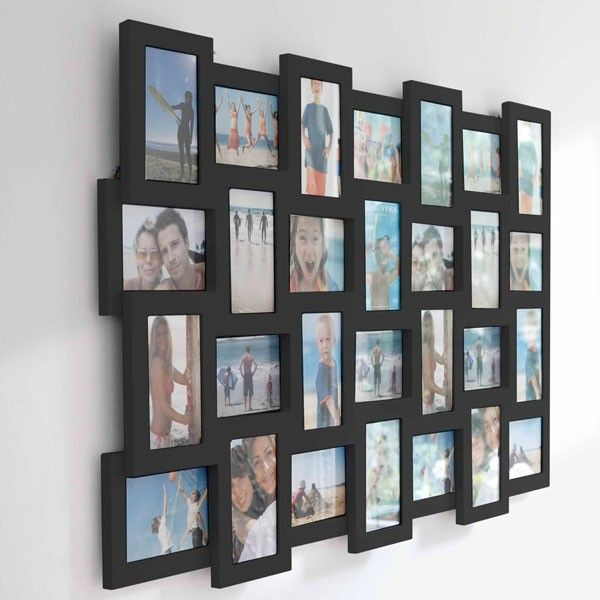 studio 28 multi frame black display 28 of your best photos in this stunning