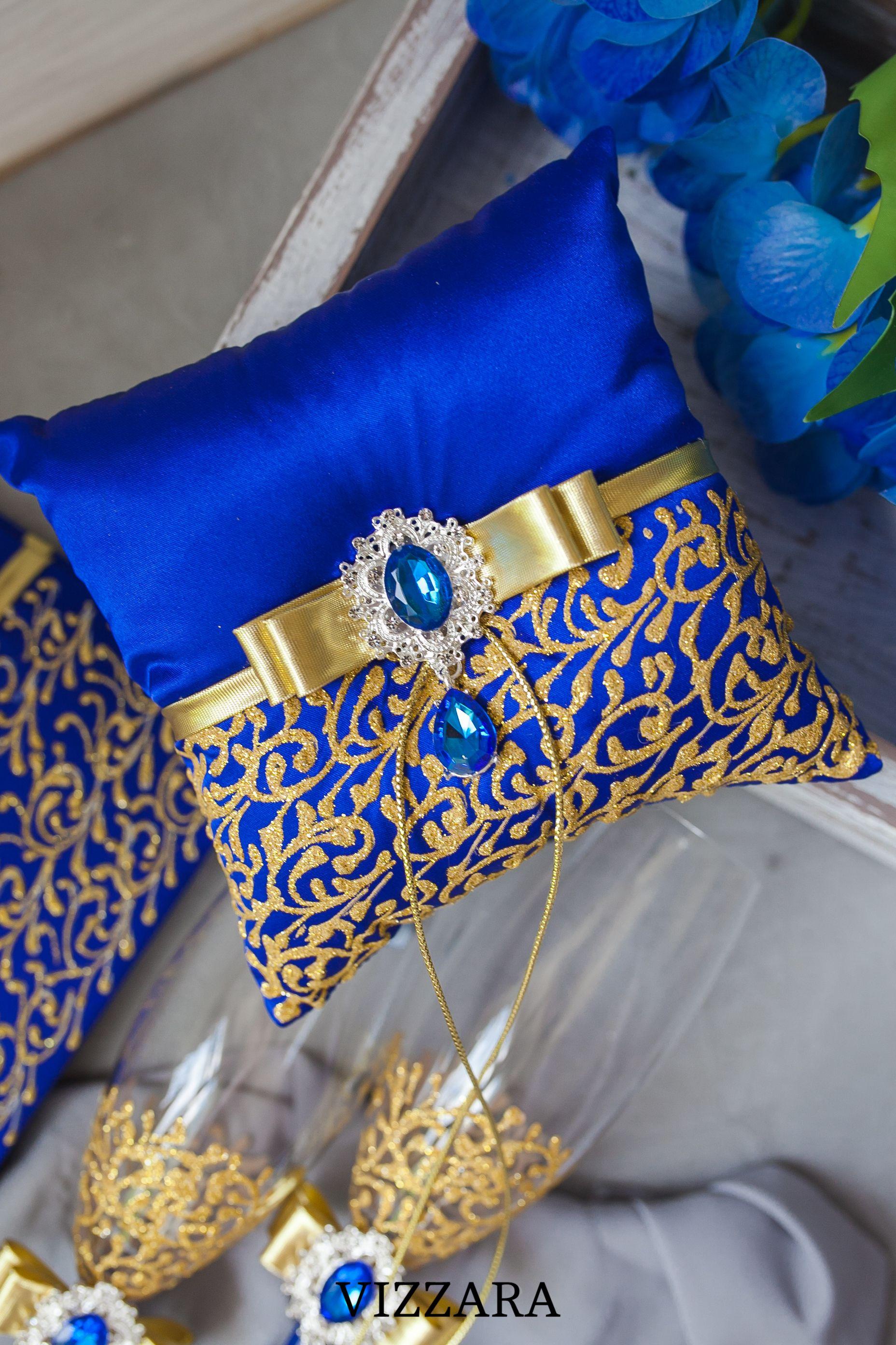 Ring Bearer Pillows Royal Blue Wedding Ring Bearer Pillow Ideas