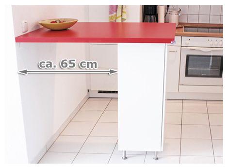 Ikea Küchentheke ~ Ikea hack küchentheke für euro