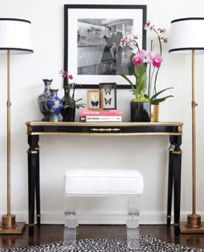 How To Accessorize A Console Table I M Currently Working