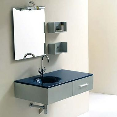 Jjt Gl Wall Mounted Bathroom Vanity Vg 139 Functional Contemporary Design