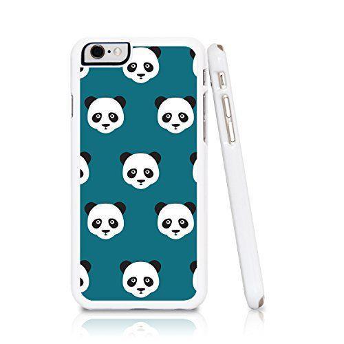 iPhone 6 Case Turquoise Blue Abstract Geometric Designs (Panda Animal Disney Cartoon) Case Collective