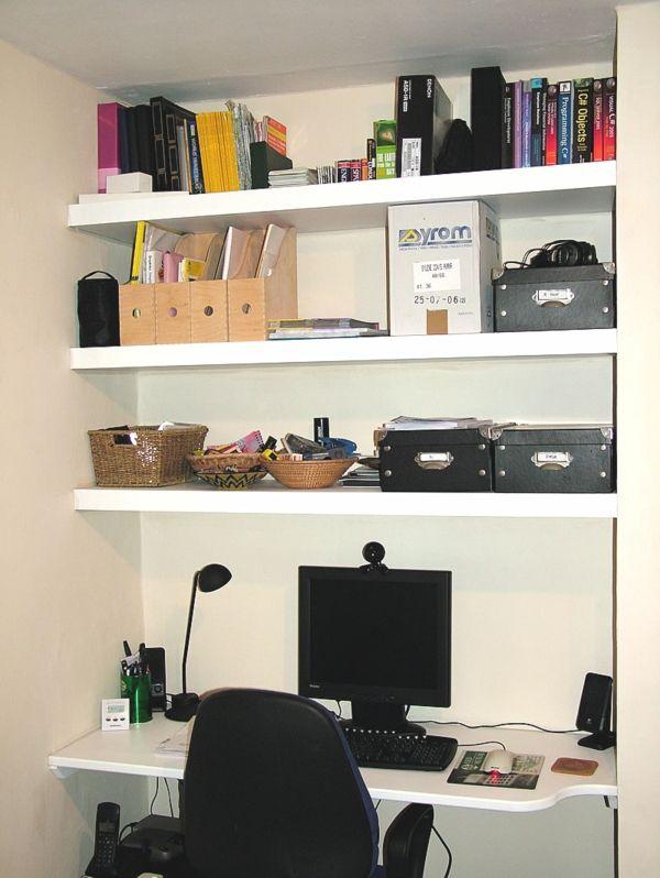 Regale Und Schreibtisch Richtig Kombinieren Und Mehr Platz