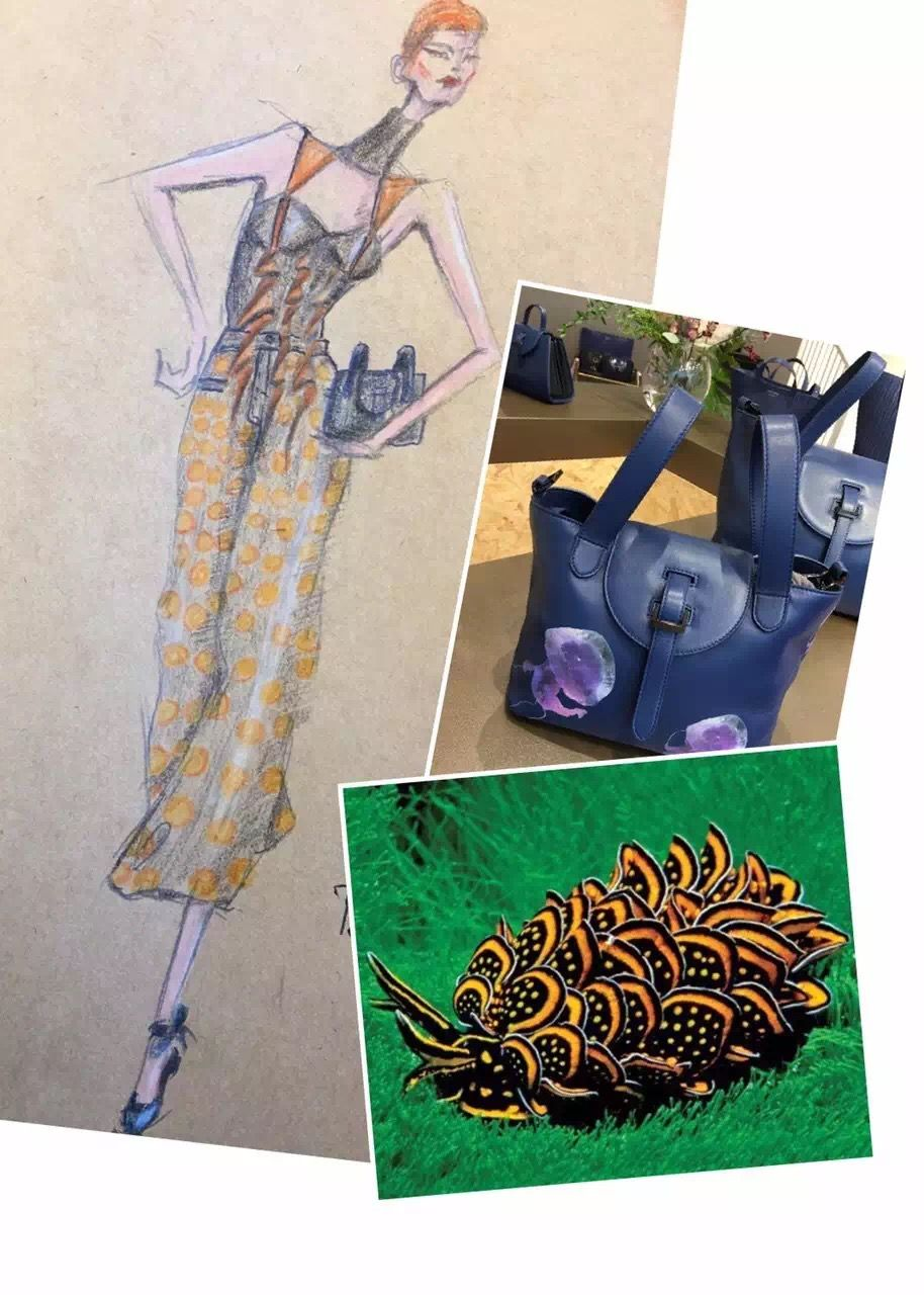 Design #22 of my 30 Days of November Designing with Meli Melo bags as a base of inspiration