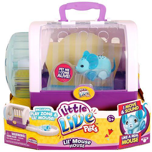 Little Live Pets Season 2 Lil Mouse House Jungle Wonder Little Live Pets