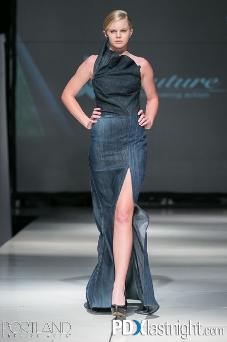 Denim Evening Dresses
