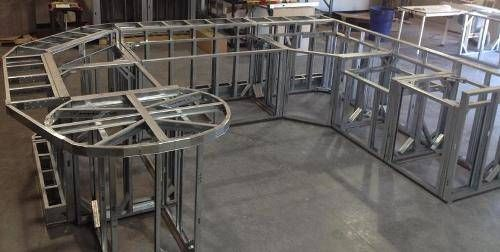 outdoor kitchen frame kit 1b small projects using lgsf