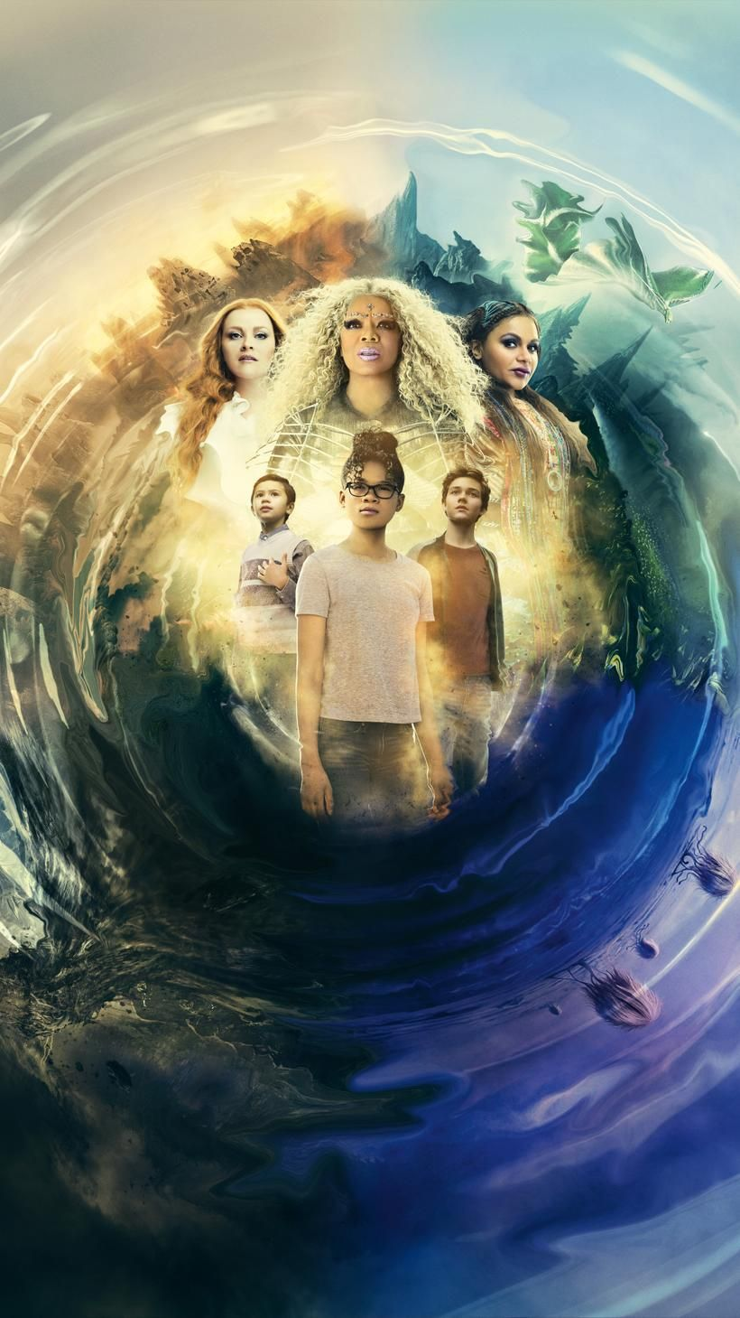 A Wrinkle In Time 2018 Phone Wallpaper Moviemania A Wrinkle In Time Disney Live Action Movies In And Out Movie