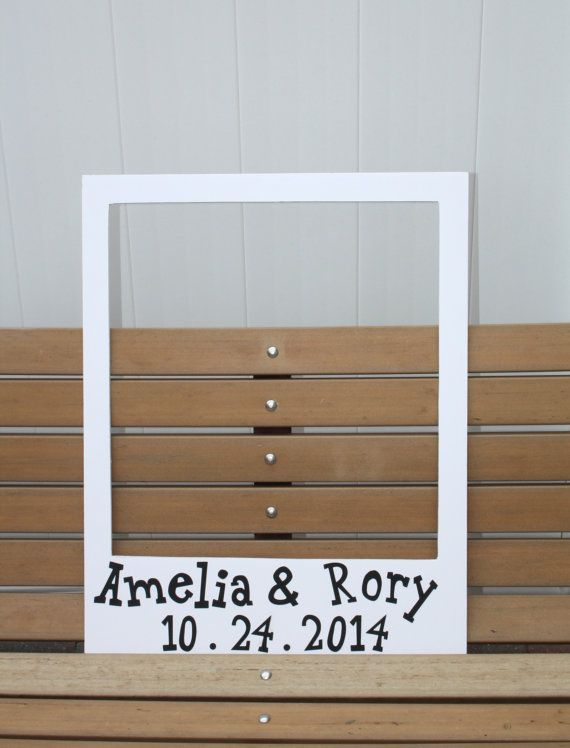 Love This Idea Life Size Polaroid Frame Photo Prop By