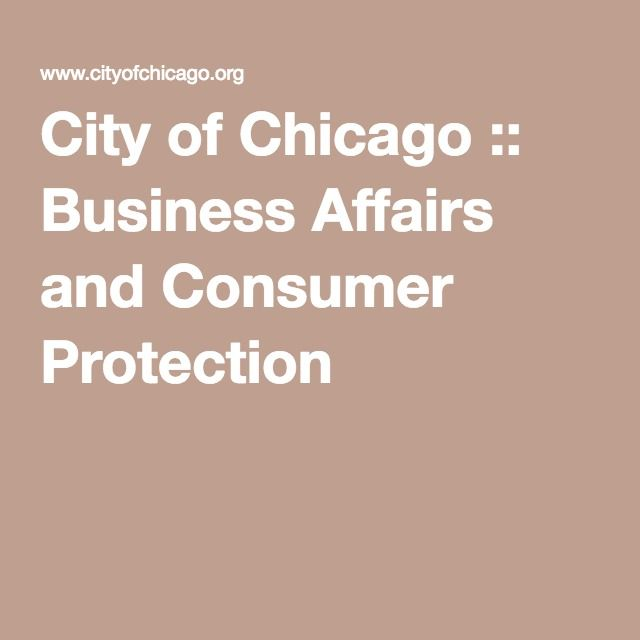 City Of Chicago Business Affairs And Consumer Protection   Resume Help  Chicago  Resume Help Chicago