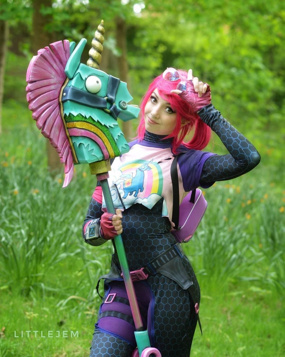 Fortnite Brite Bomber Cosplay By Little Jem Fortnite Pinterest