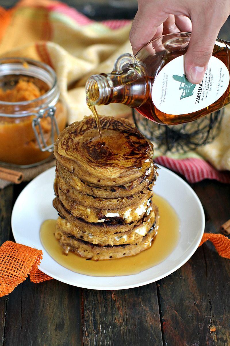 Pumpkin Cheesecake Pancakes Sweet And Savory Meals Recipe Pumpkin Cheesecake Dessert For Dinner Pumpkin Fudge