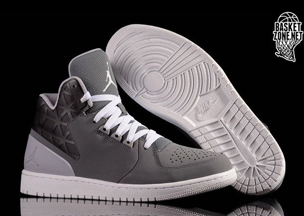 new styles 583e6 19cad top quality air jordan 1 flight 3 cool grey 01eb1 931b4