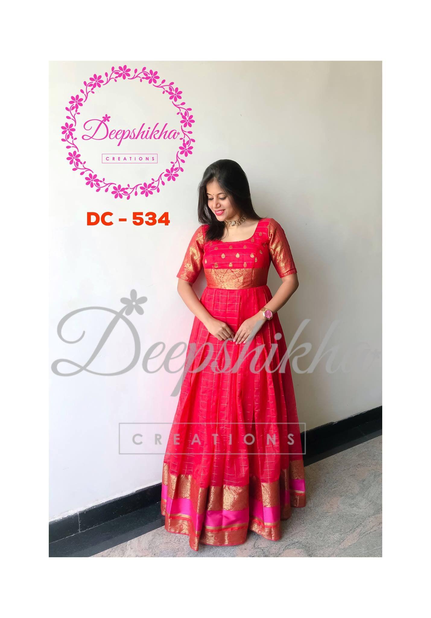 0ad0a8dba2b8d Pin by Priyanka Kolla on Covert Old saree into New Dress