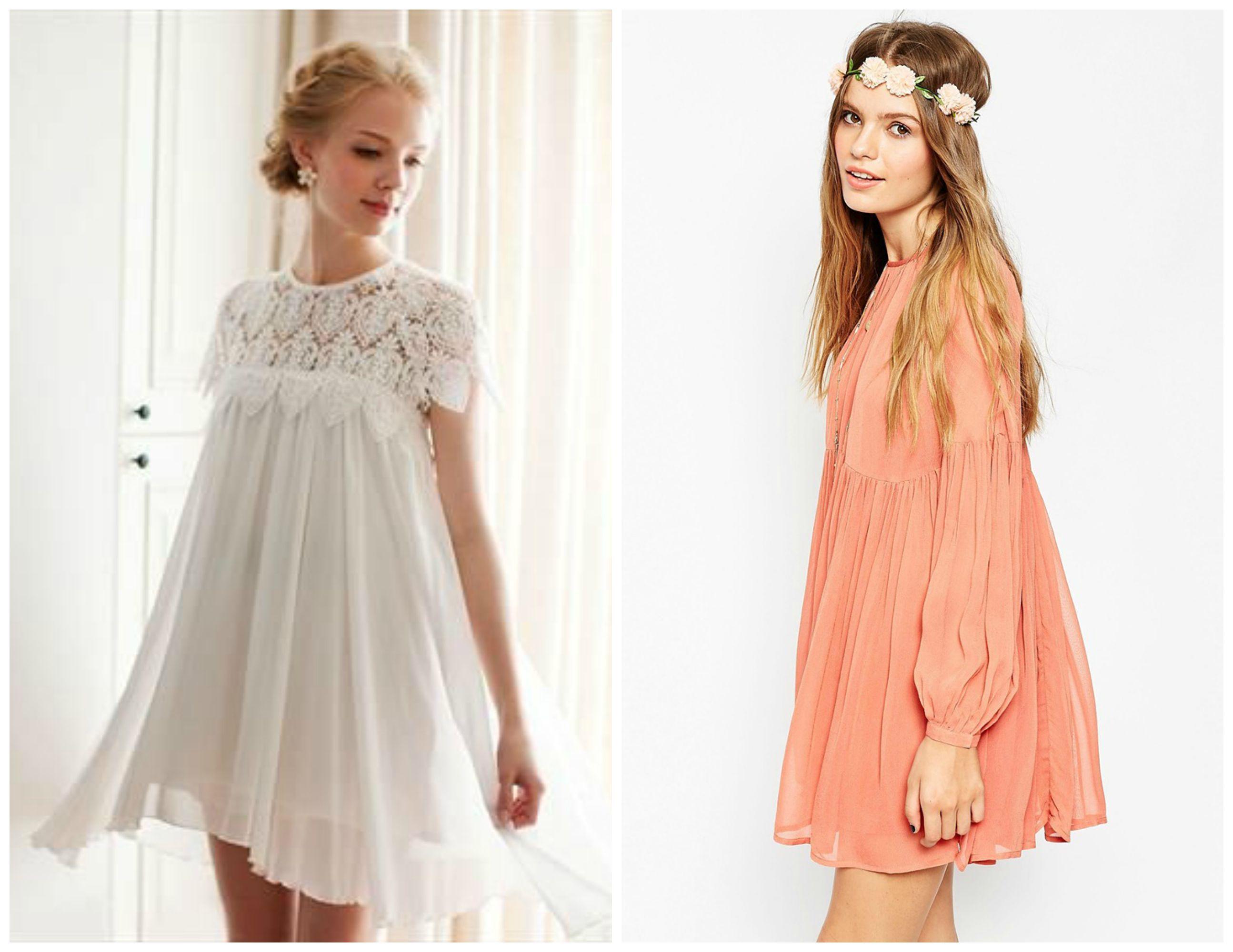 How To Wear The Babydoll Bridesmaid Dress Bridesmaid