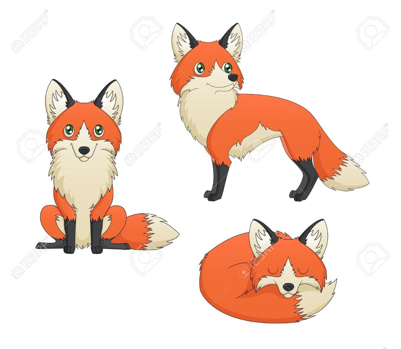 Renard dessin couleur recherche google renard pinterest foxes - Dessin renard ...