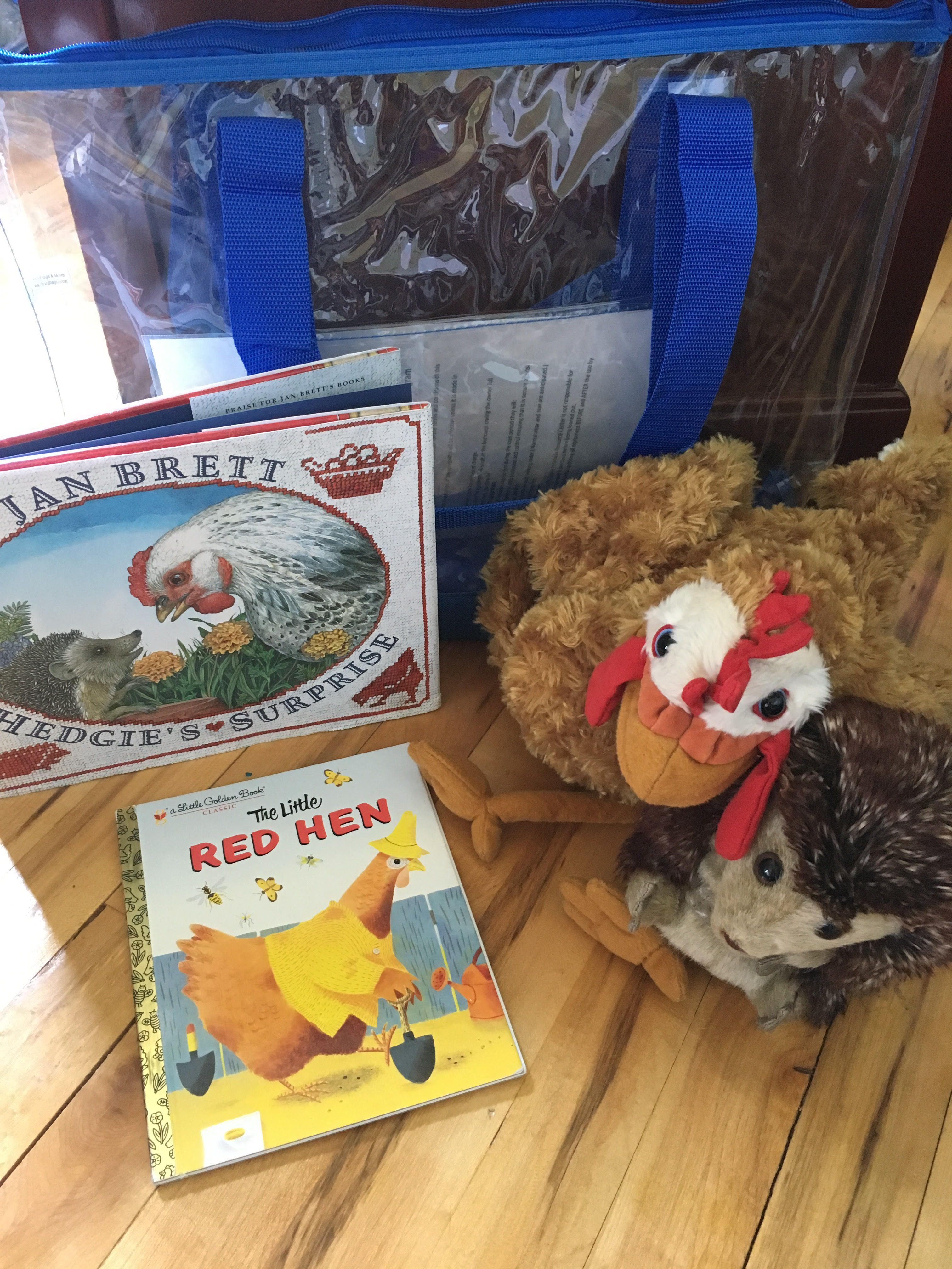 Hen And Hedgehog Books Hedgie S Surprise And Little Red