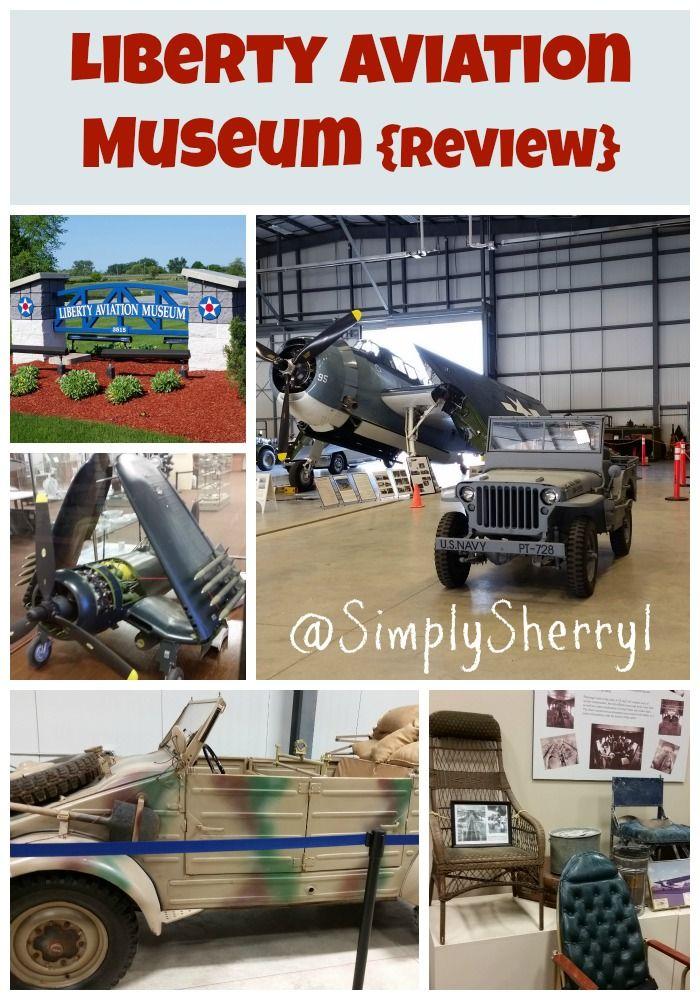 Liberty Aviation Museum {Review Ohio vacations, Sandusky