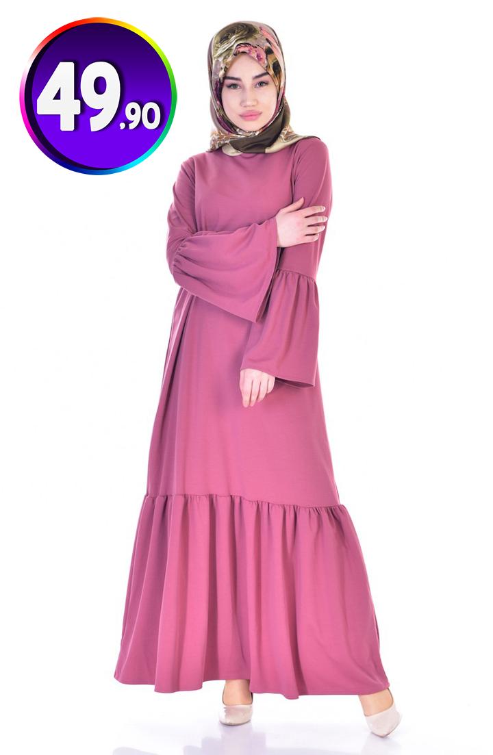 Buzgulu Elbise 3301 07 Gul Kurusu Sefamerve 49 90 Tl Indirimli Tesettur Elbise Modelleri 2020 Buzgulu Elbiseler Elbise Elbise Modelleri