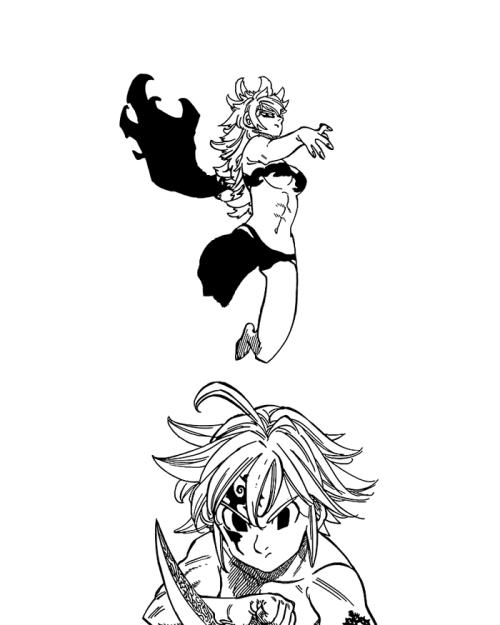 Derriere Seven Deadly Sins : derriere, seven, deadly, Nanatsu, Taizai, Seven, Deadly, Anime,, Deady, Sins,, Comic, Template