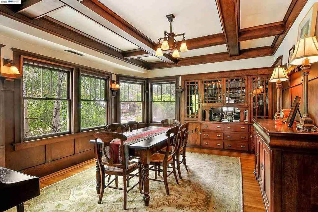 Off the charts gorgeous 1915 craftsman with amazing - Craftsman style house interior ...