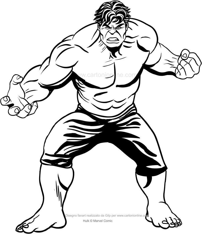 Hulk Para Colorear Buscar Con Google Art Humanoid Sketch