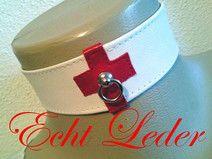 """""""Schwestern""""-Halsband Leder 4-22"""