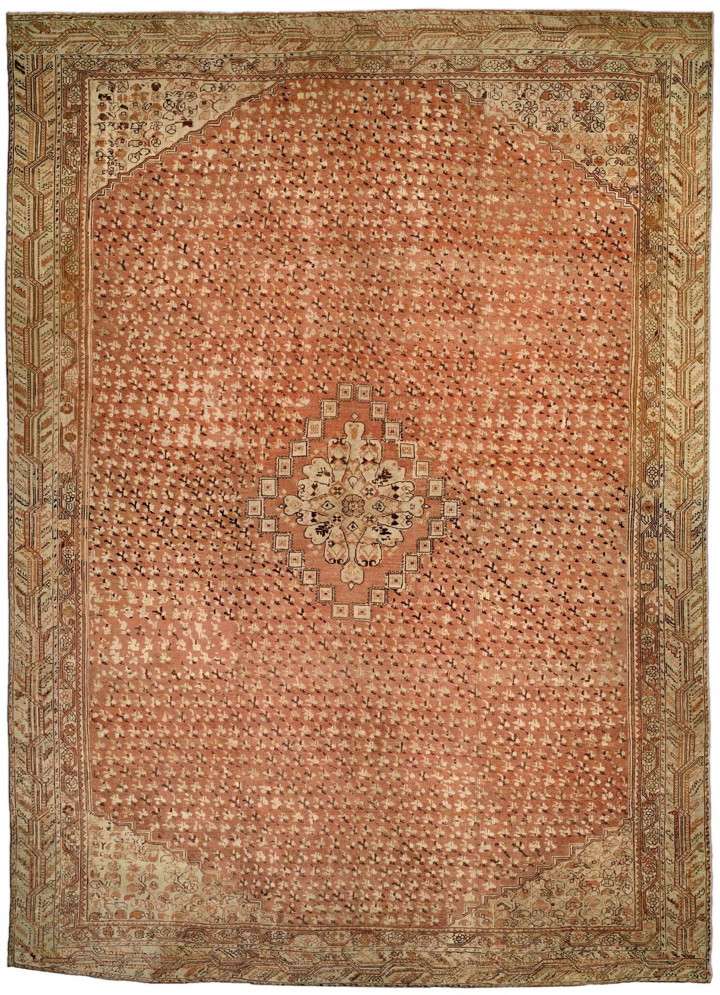 Antique Turkish Ghiordes Carpet Rugs Pinterest Tapis - Carrelage terrasse et tapis chirvan ancien