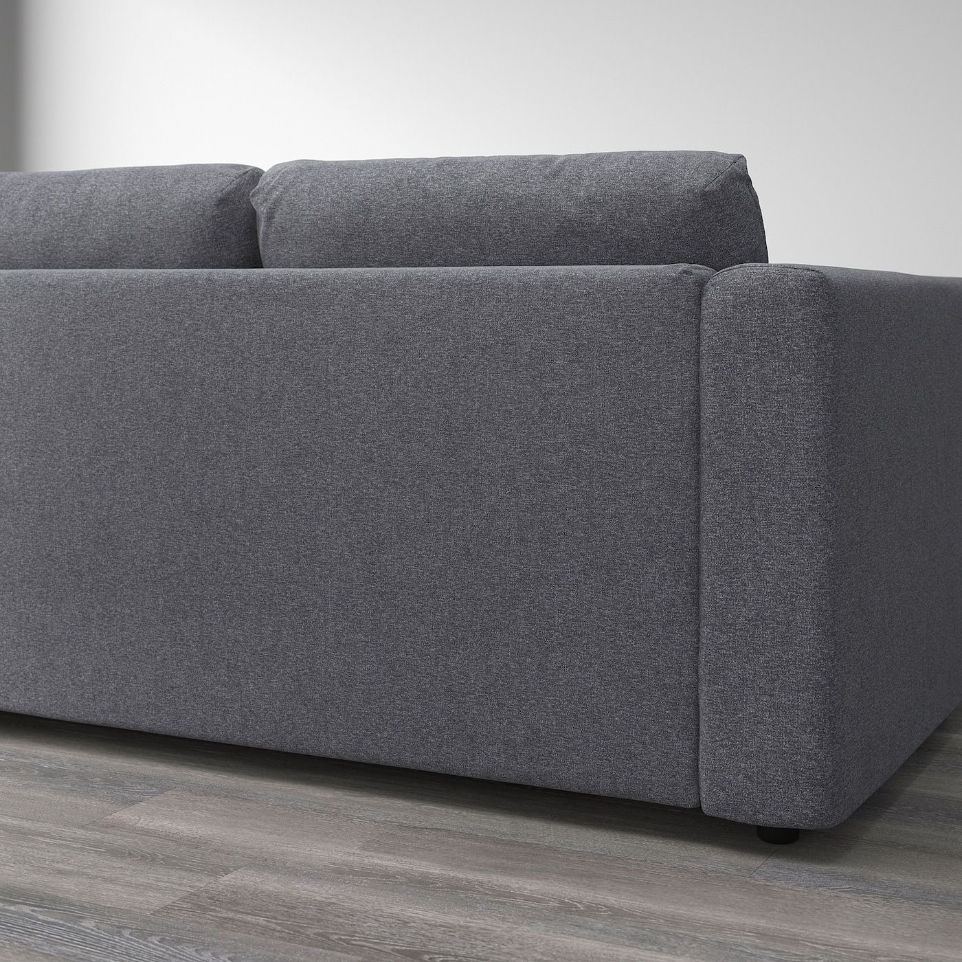 Ikea Vimle Ecksofa 3 Sitzig Ohne Abschluss Gunnared Mittelgrau In 2020 2er Sofa Sofa Ecksofa
