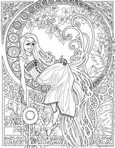 Steampunk Coloring Pages For Adults Bing Images Fairy Coloring Pages Princess Coloring Pages Disney Coloring Pages
