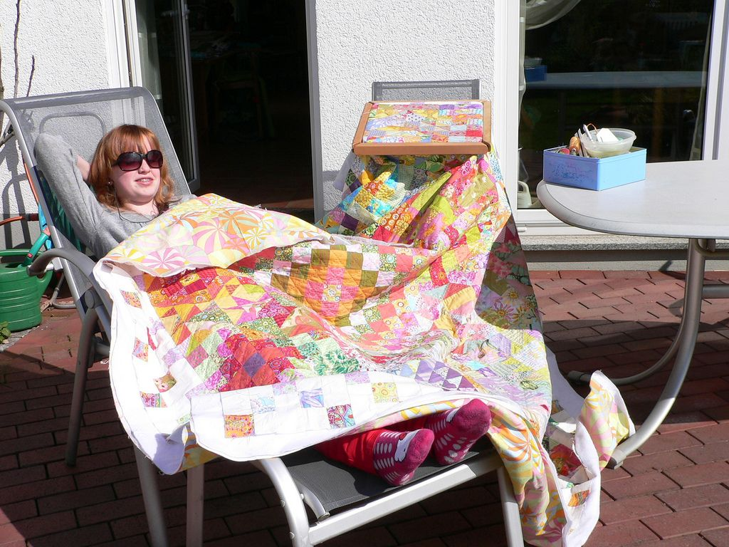 handquilting in the sun | Flickr - Photo Sharing!