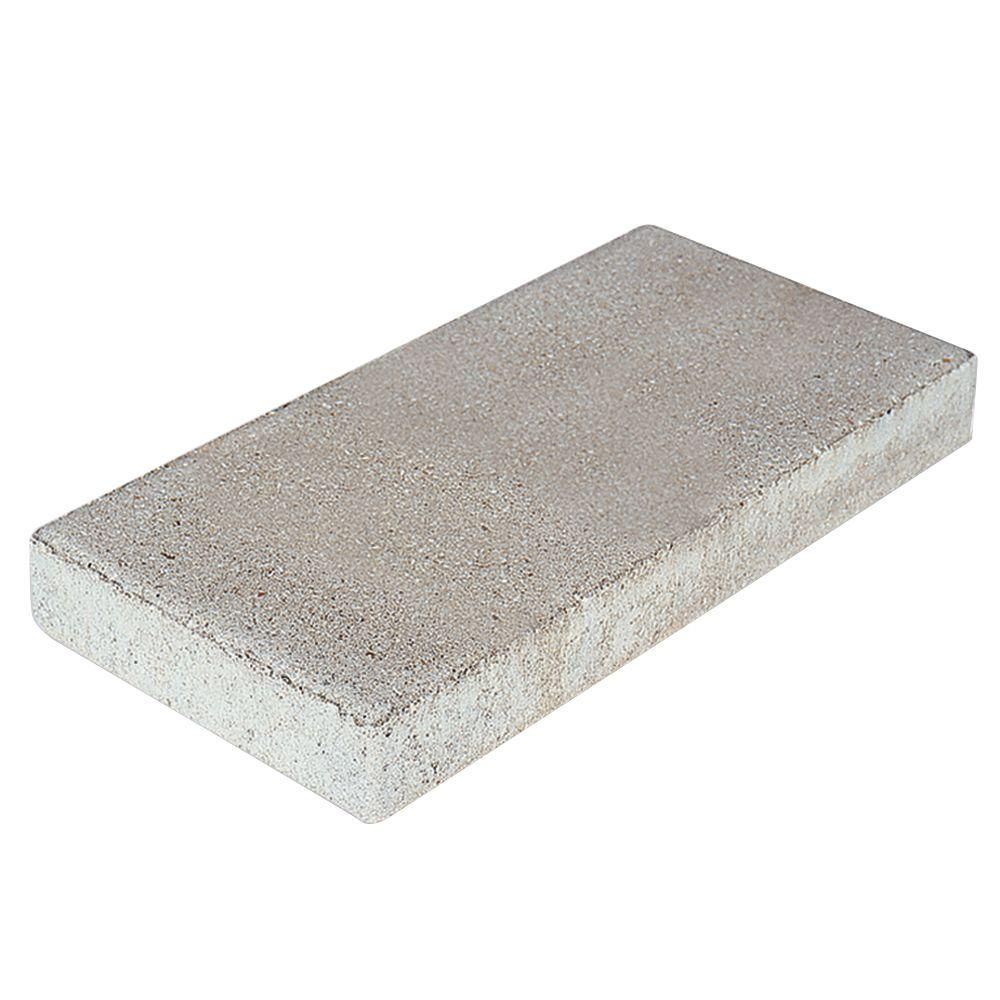 Grey Concrete Step Stone 74000 The Home Depot