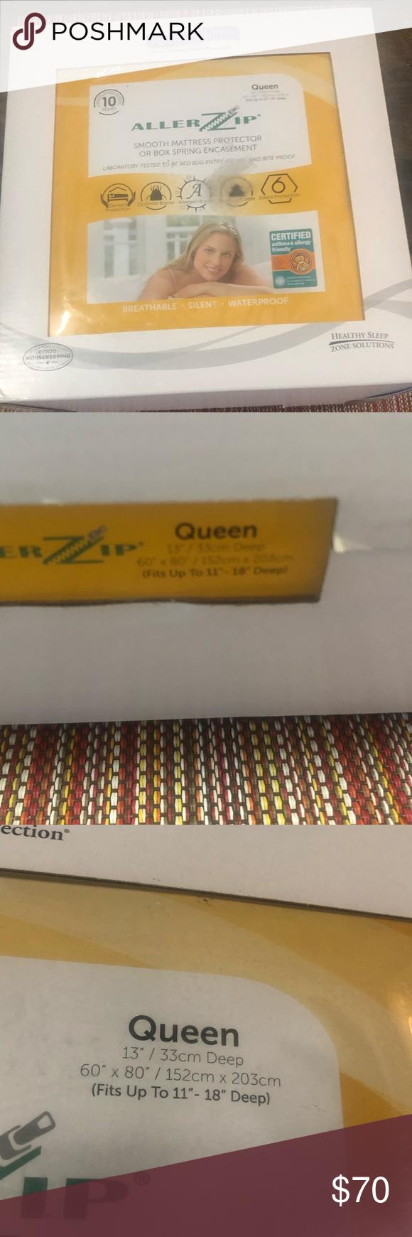 Protect a bed mattress protector encasement NWT Mattress