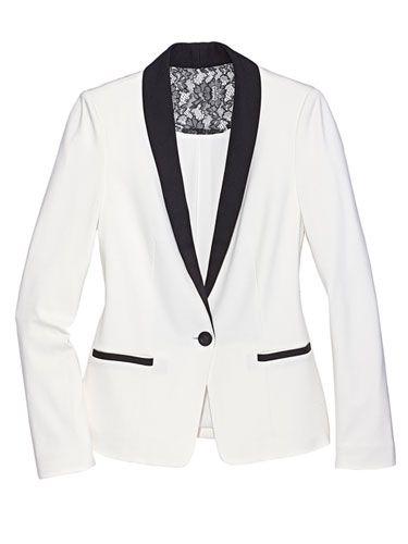 Female Tuxedo Jackets | Tuxedo jacket, Tuxedo and Blazers