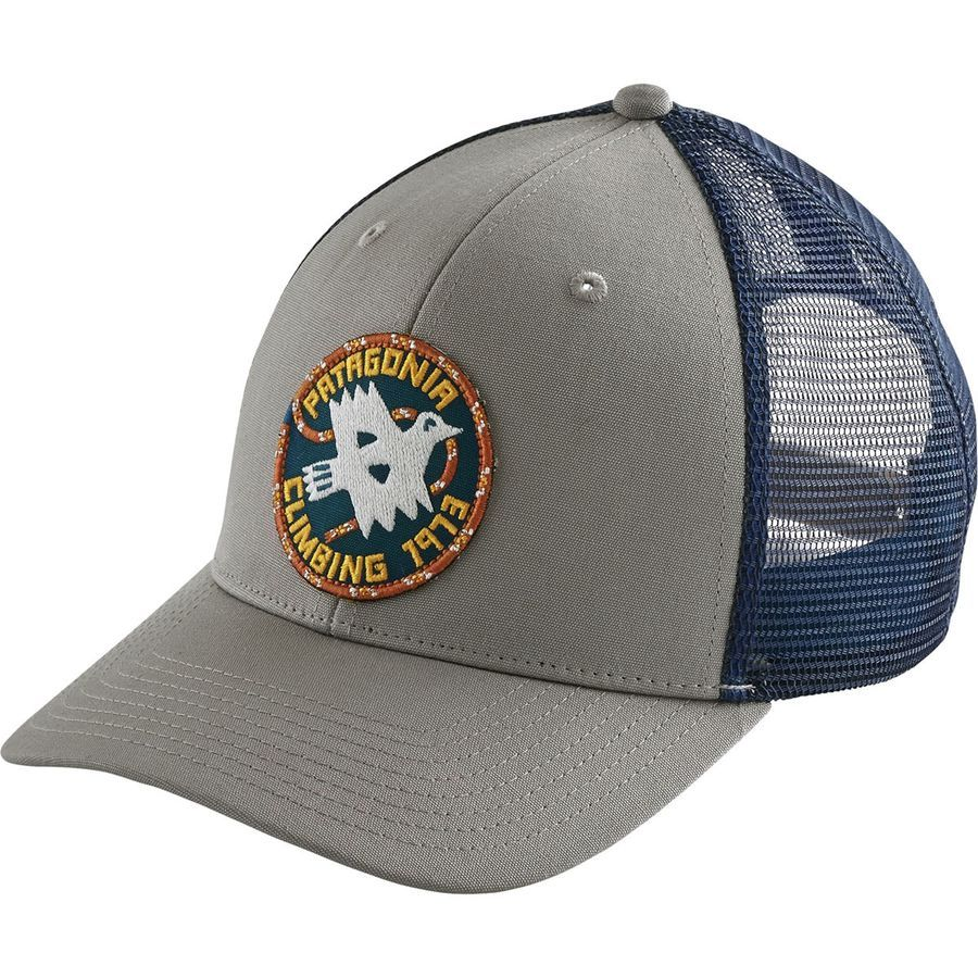 Patagonia - Peace Offering Trucker Hat - Drifter Grey  2159eb4720e