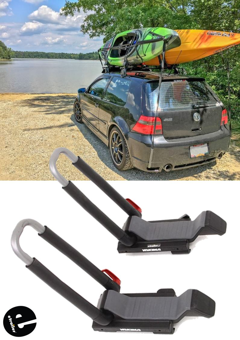 Yakima JayLow Kayak Carrier w/ TieDowns JStyle or Post