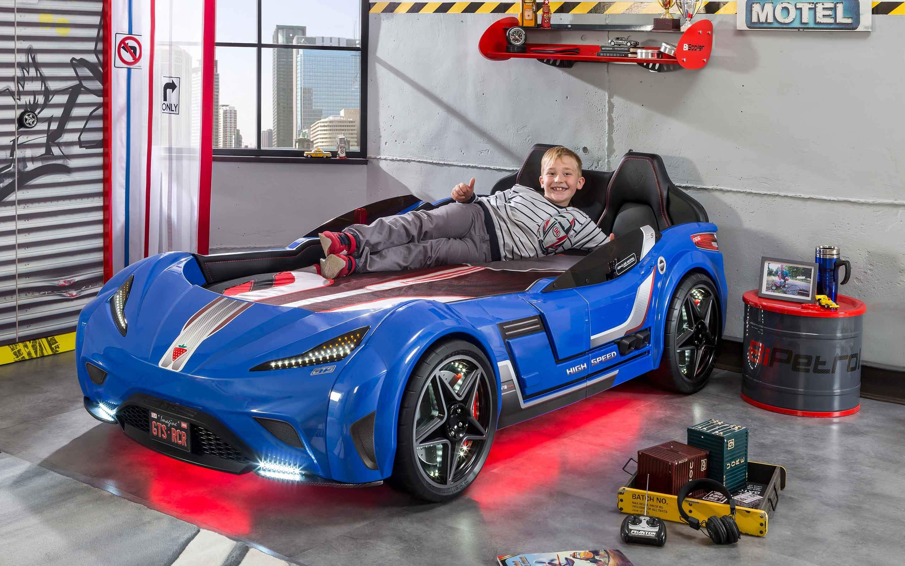 Gts Collection With Twin Race Car Bed Gas Pump Dresser And More Cilek Kids Room Boys Boysroom Racecar Racecarbeds Twinra Race Car Bed Car Bed Cars Room