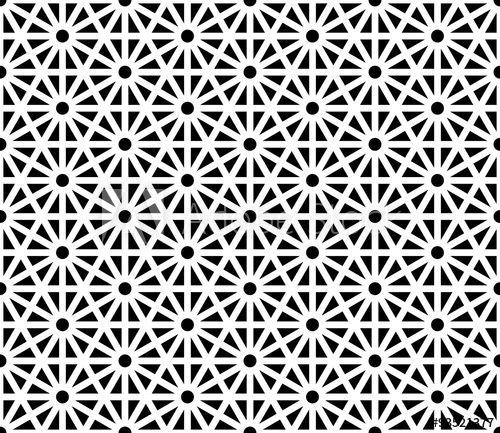 Vector Modern Seamless Sacred Geometry Pattern Black And White Abstract Geometri Sacred Geometry Patterns Geometric Tattoo Background Geometric Mandala Tattoo