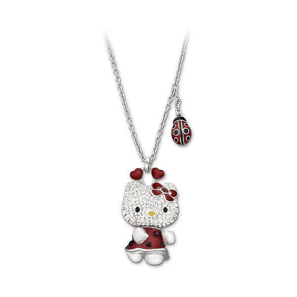 Swarovski - Hello Kitty Lady Bug Necklace  1d5026bf3847a